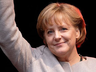 Angela Merkel, the most powerful and influential woman in the world.