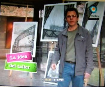 """Nota del Programa """"caja Rodante"""" TV publica."""