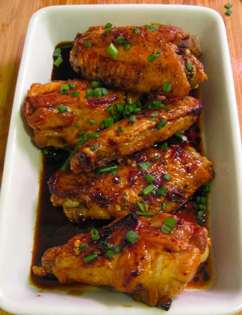 chicken wings sweet soy glazed chicken wings here s my maple glazed ...