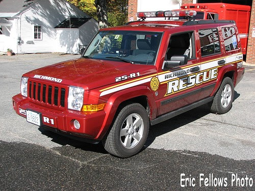 Jeep Commander Blog A Jeep Commander With Firefighting Duties
