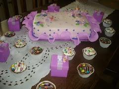 Bolo e cup cakes