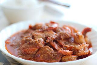 sambal udang masakan udang masakan indonesia
