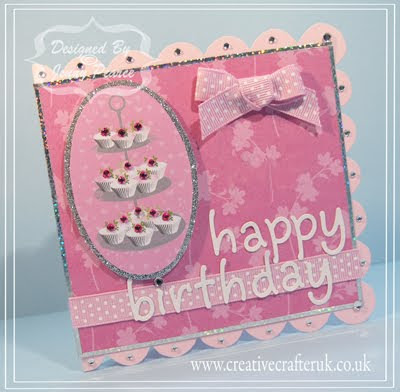 Creative crafter uk birthdays and cupcakes handmade card