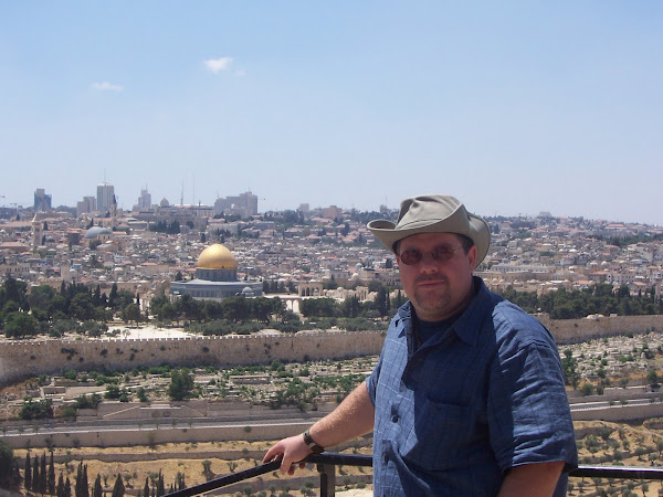 Temple Mount from Mt. of Olives
