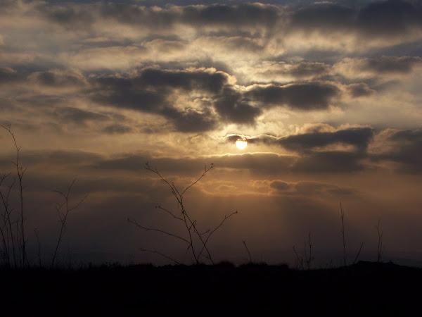 Sunrise at Tel Gezer