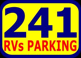241 RVs Parking