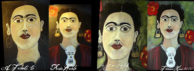 Paintings of Frida Kahlo