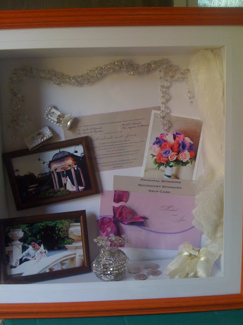 WEDDING ACCESORIES PRESERVATION