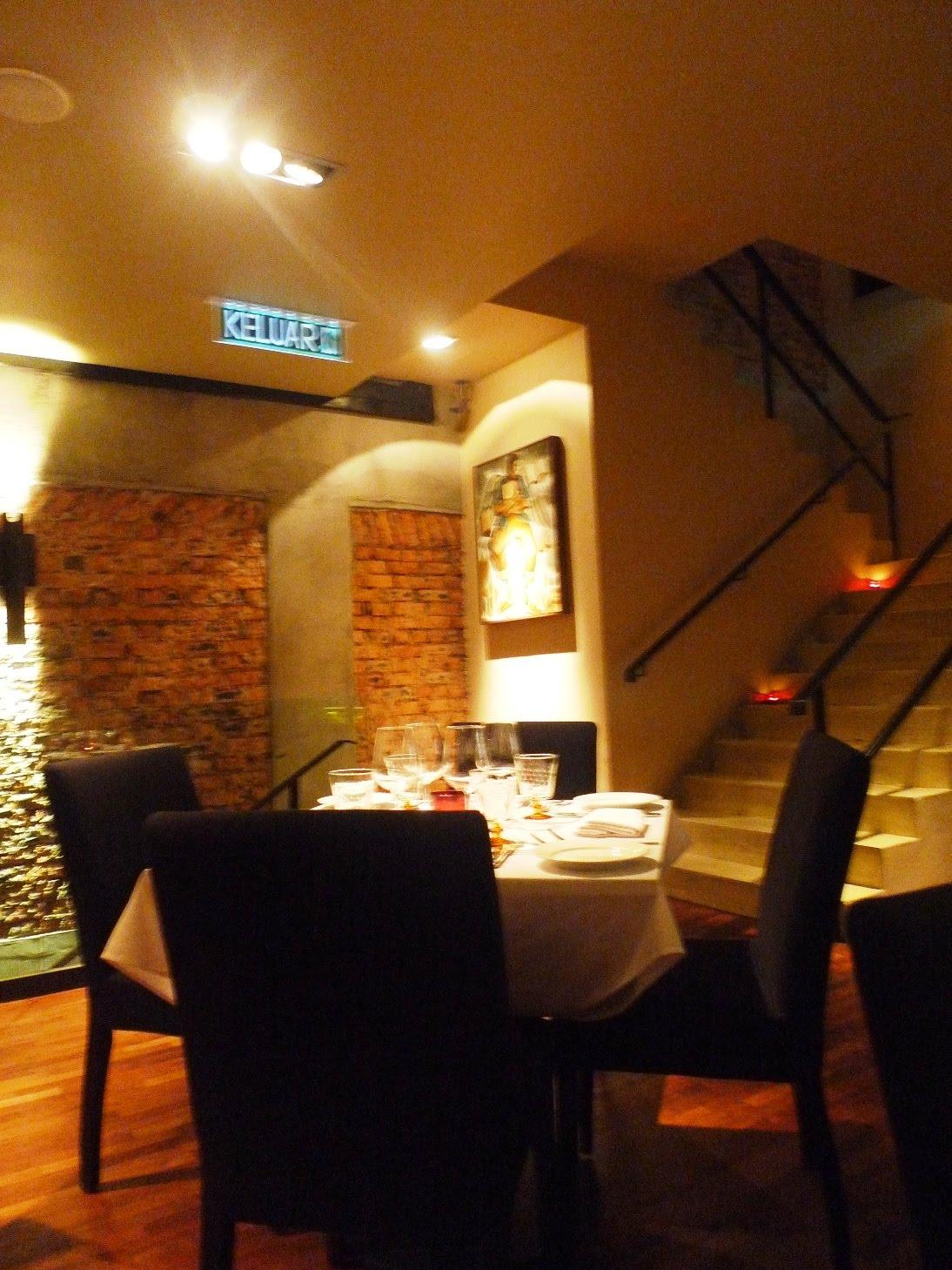 Augustdinersfoodblog ms jazz reviews leonardo 39 s dining for Leonardo s dining room