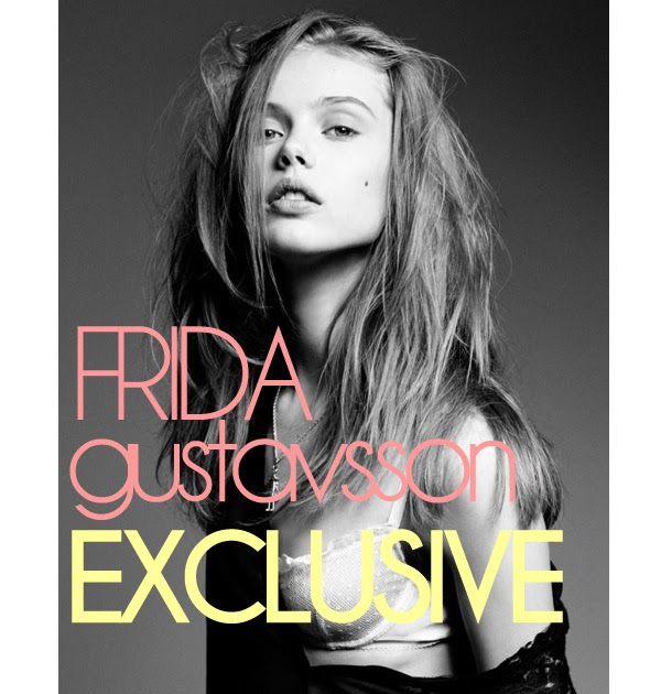 FRIDA GUSTAVSSON: the interview