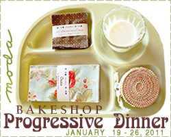 Moda Bake Shop Progressive Dinner
