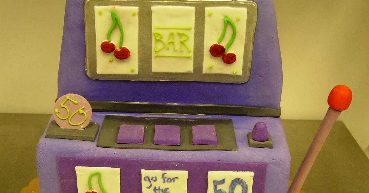 Artisan Bake Shop Slot Machine Cake