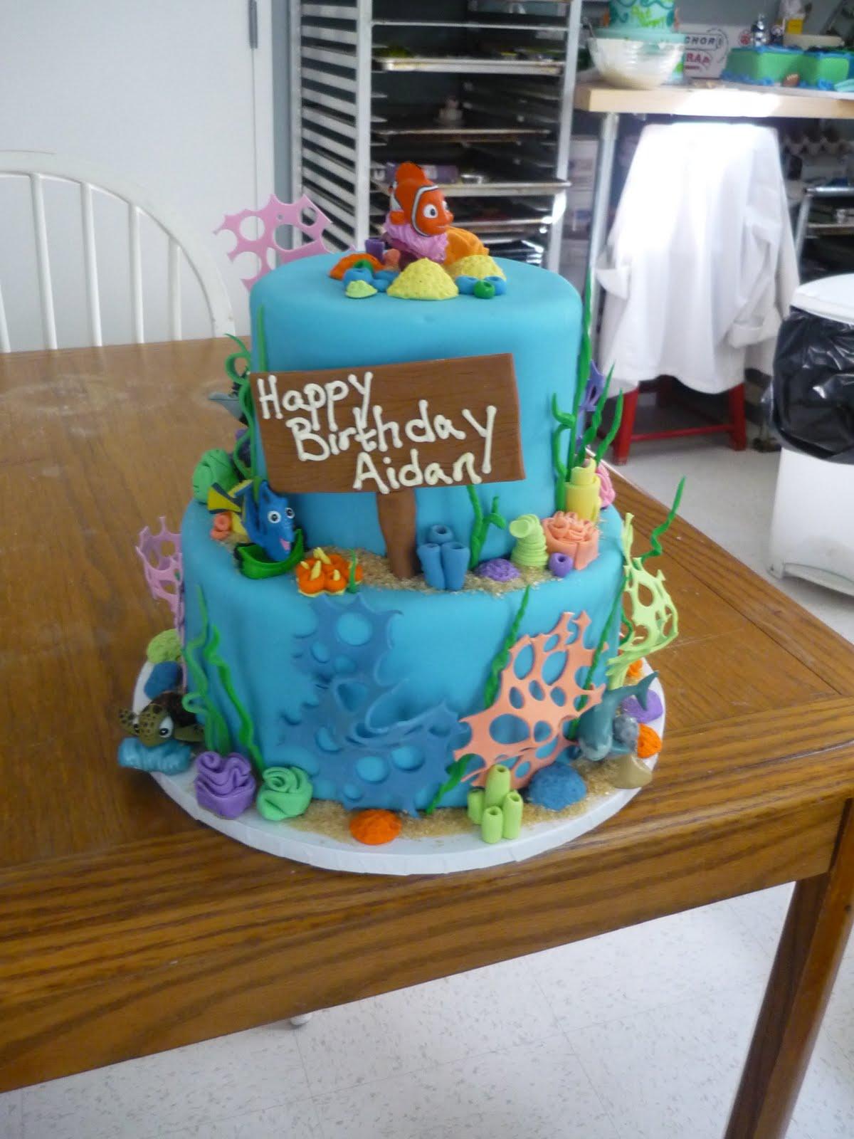 Artisan Bake Shop Finding Nemo Birthday Cake