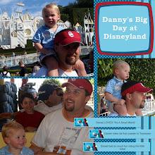 Danny's birthday at Disneyland