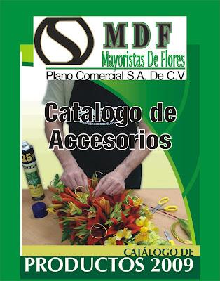 Mayoristas de flores catalogo de accesorios for Catalogo de accesorios