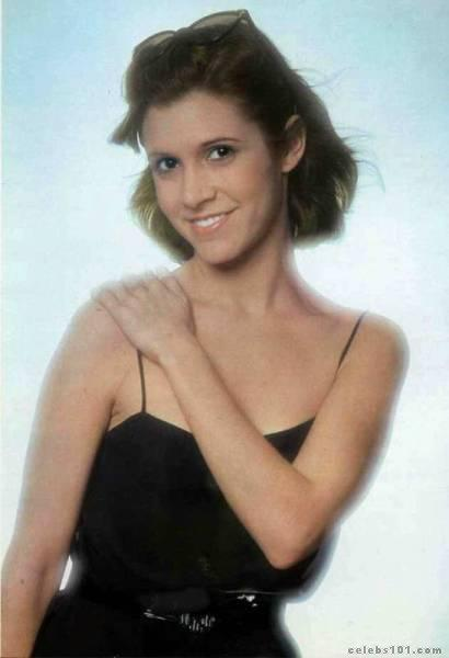 GLAMOUR: CARRIE FISHER