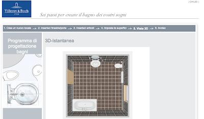Creare un bagno online in 6 - Creare un bagno con sanitrit ...