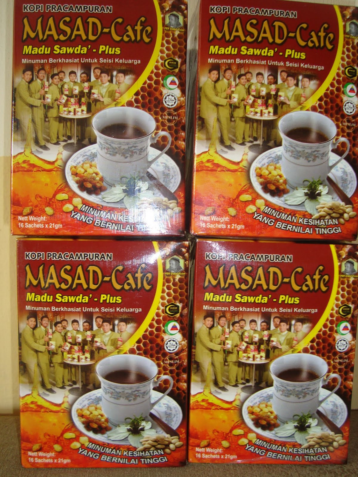 Calendar May Sia : Masad cafe