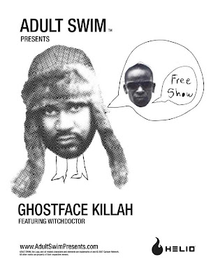 Adult Swim is presenting a handful of free Ghostface Killah/Witchdoctor ...