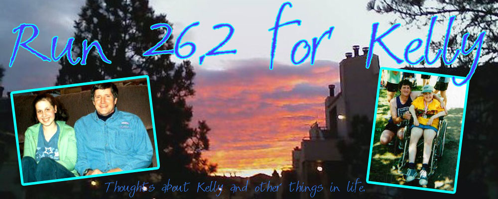 Run 26.2 for Kelly