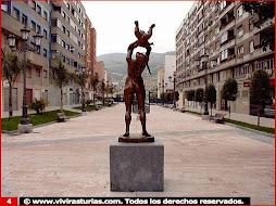 estatua dedicada a la vida