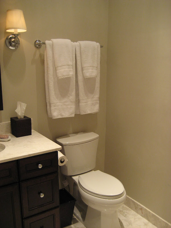 only wish our bathroom was bigger so you could get a better sense of  title=