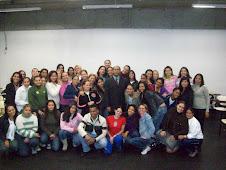 Prof. Marcelo e alunos do curso de Pedagogia