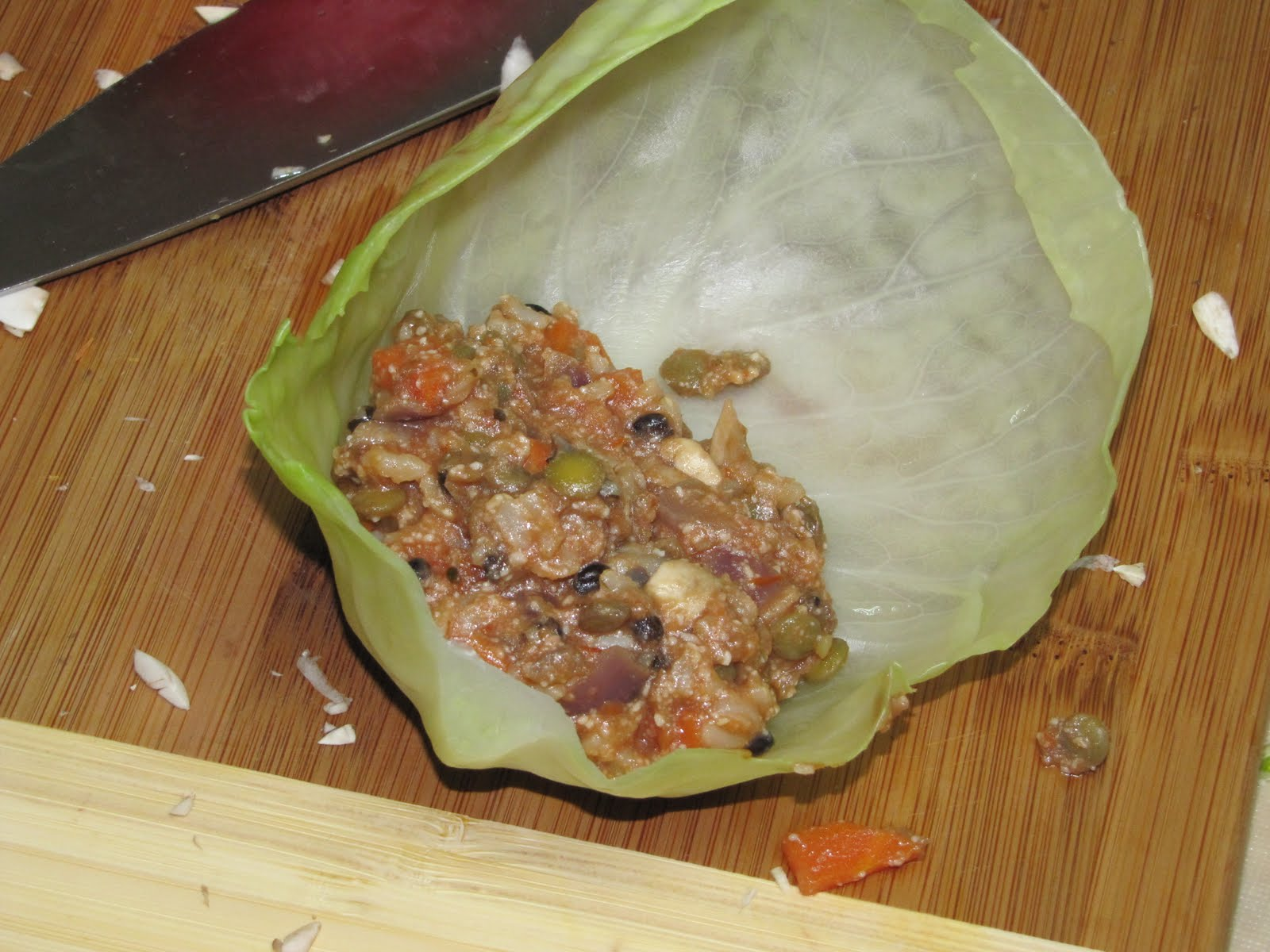 Food for Fuel: Vegetarian Cabbage Rolls