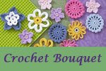 crochet bouquet etsy shop