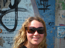 Here I am in front of the Berlin Wall