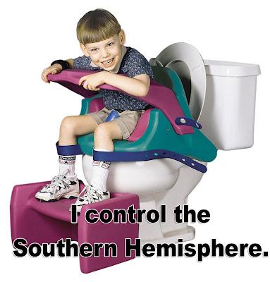 I Control the Southern Hemisphere