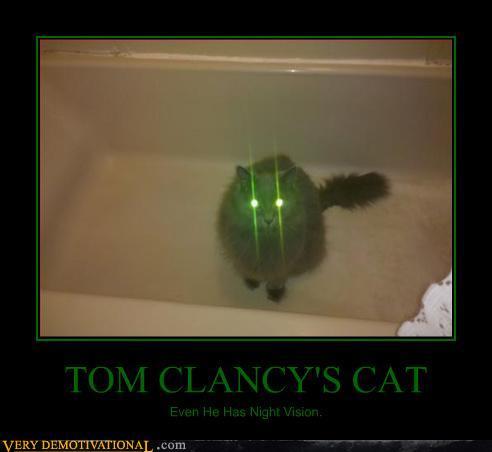Tom Clancy Cat