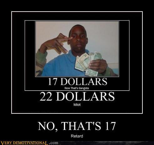 No, That's 17
