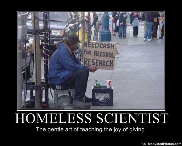 Homeless Scientist