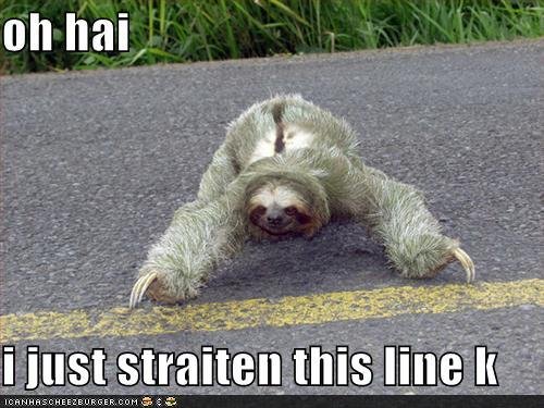 oh hai i just straiten this line k