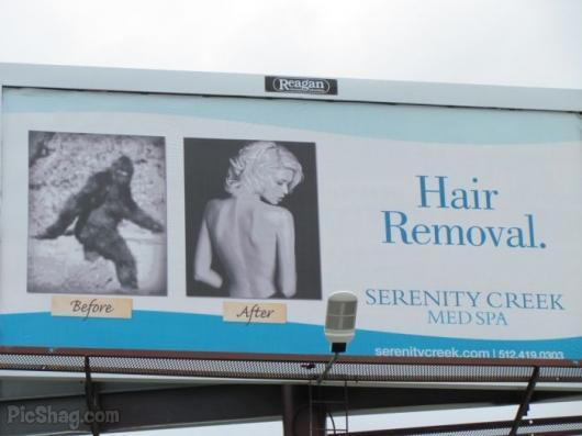 Hair Removal Ad