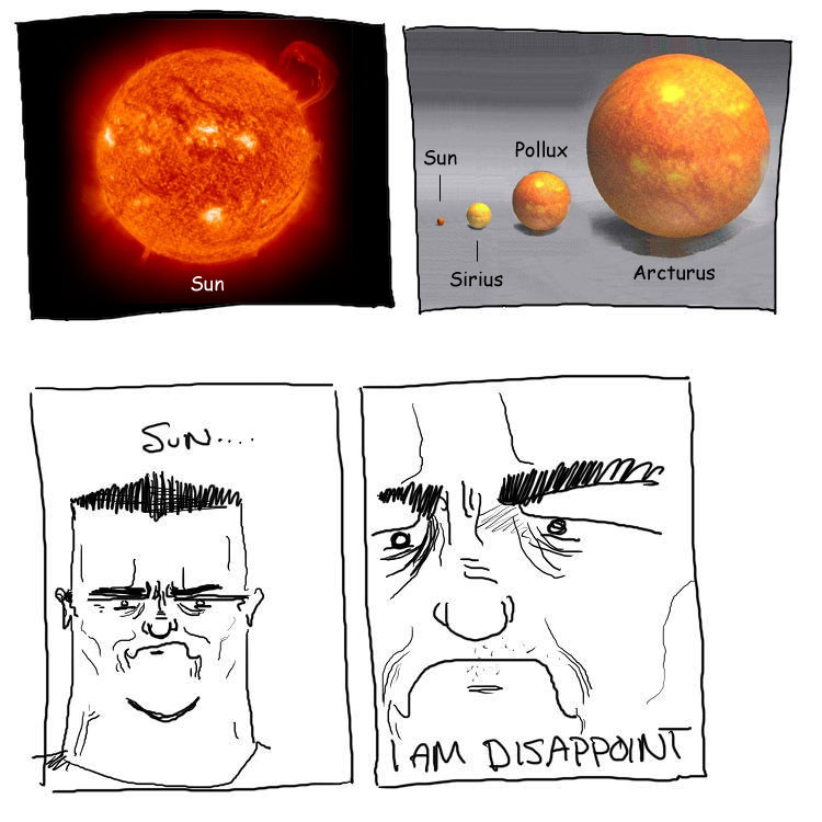Sun...I Am Disappoint