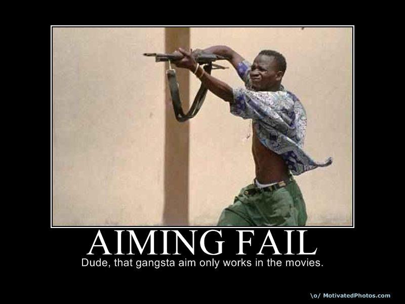 AIMING FAIL