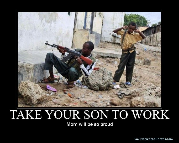 TAKE YOUR SON TO WORK
