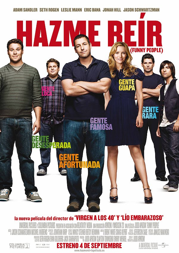 Hazme+Re%C3%ADr+ +Funny+People+ +2009+ +Cine Hazme reír (Funny People) (2009) Español Latino
