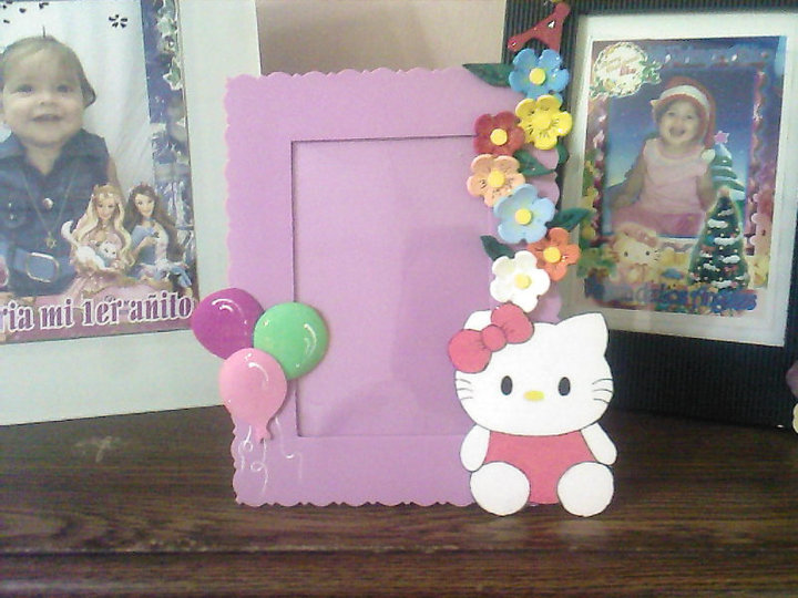 Arte en Foami: Hello Kitty