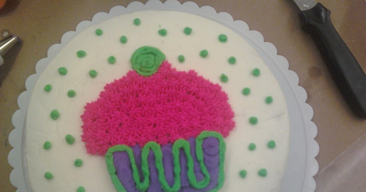 Cake Decorating Classes Michaels Craft Store : The Girly Girl Cooks: Cake Decorating: Lesson 1 & 2