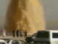 Video Semburan Pasir Arab Saudi