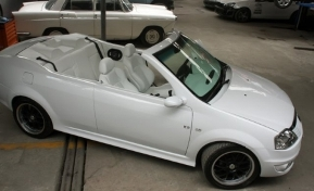 Dacia Logan decapotabila este o masina care arata bine si cu ea se ...