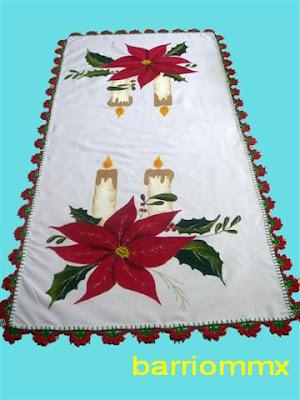 Mantel para navidad todo en un solo lugar - Manteles de navidad ...