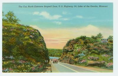 Vintage Linen Postcard of