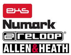 Controladores Eks Numark Reloop Allen & Heath