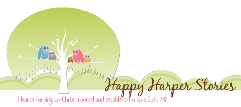 Happy Harper Stories Blog Design