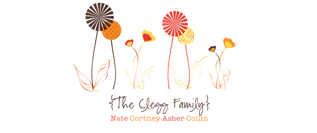 The Clegg Family Blog Design