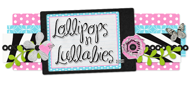 Lollipops and Lullabies Blog Design